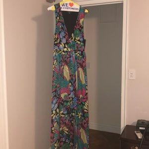 Super fun tropical themed dress